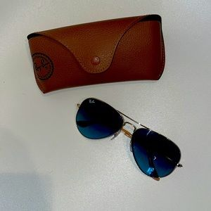 Ray ban women's sun glasses with 100% UV